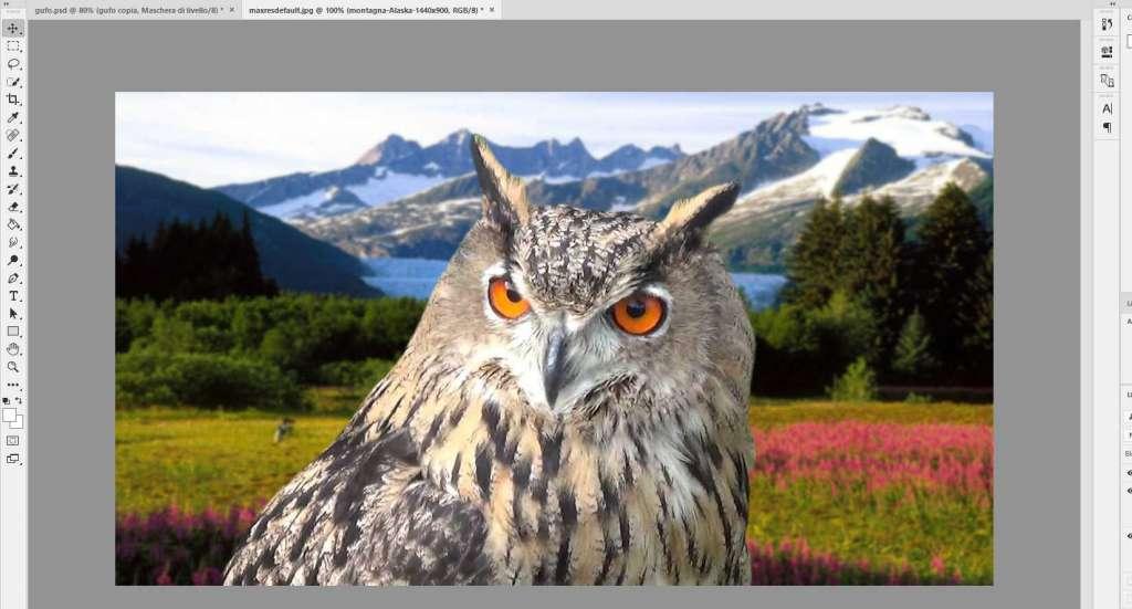 scontornare Immagini con Photoshop