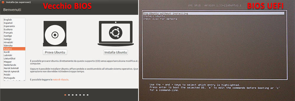 Come installare Ubuntu prova