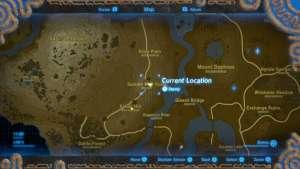 The Legend of Zelda Breath of the Wild Immagine Ricordo 10 – Verso il monte di Ranel