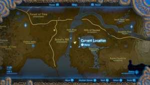 The Legend of Zelda Breath of the Wild Immagine ricordo 7 – Al riparo dalla pioggia