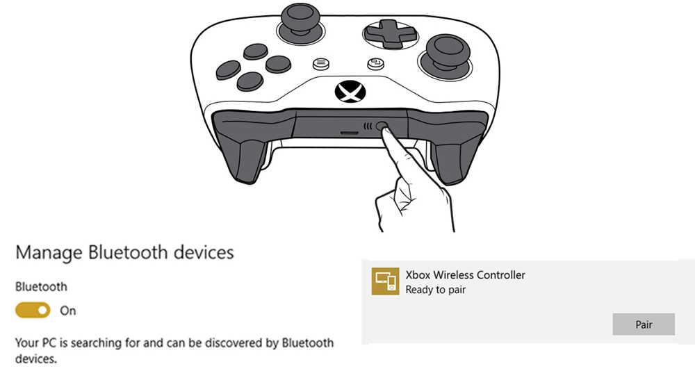 come connettere controller wireless xbox one al pc