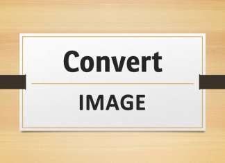 Come convertire immagini