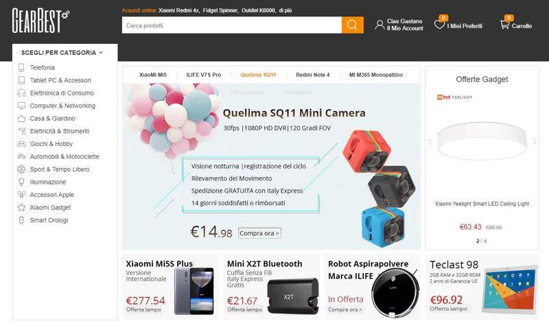 2de2394cdf69 È sicuro acquistare su Gearbest  Migliori store cinesi per acquisti ...