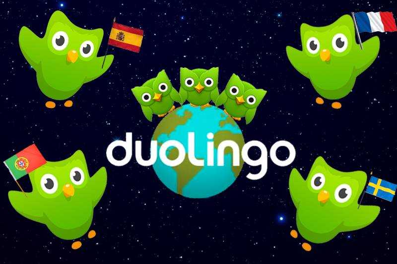 Corsi di inglese online Duolingo