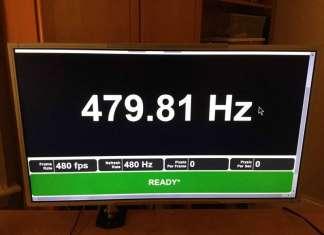 Monitor Gaming a 480 Hz