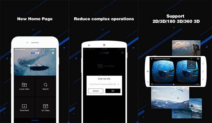 Migliori app lettori video VR per smartphone - HardwareTheory it