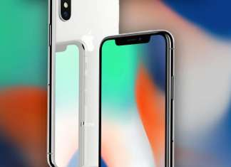 iPhone X, display borderless