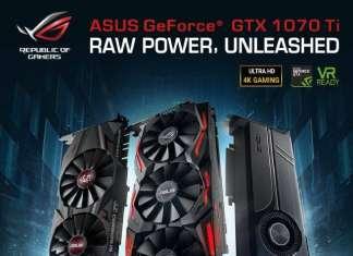 ASUS presenta 5 varianti custom della GTX 1070 Ti ROG-STRIX-GTX1070TI-A8G-GAMING ROG-STRIX-GTX1070TI-8G-GAMING TURBO-GTX1070TI