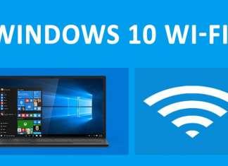Disattivare la connessione automatica Wi-Fi su Windows 10