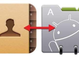 Come trasferire contatti rubrica da iPhone a Android
