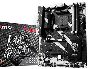 Scheda madre AMD AM4 B350 Miglior Overclock