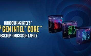 processori Intel Coffee Lake cover