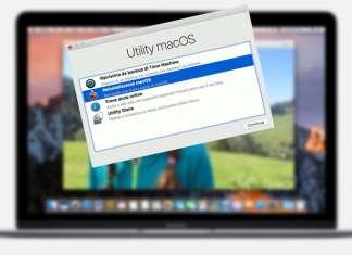 ripristinare avvio del Mac problemi MacOS