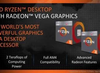 AMD Ryzen 5 2400GE e Ryzen 3 APU TDP 35W