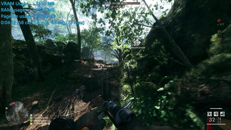 Benchmark Battlefield 1 BF1 1060-6G