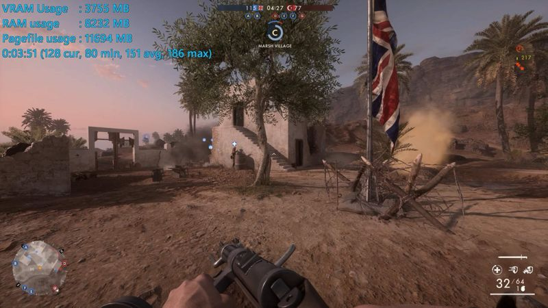Benchmark Battlefield 1 GeForce GTX 1080 Ti