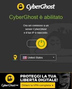 Estensioni VPN Chrome CyberGhost VPN