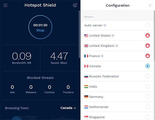Estensioni VPN Chrome Hotspot Shield VPN