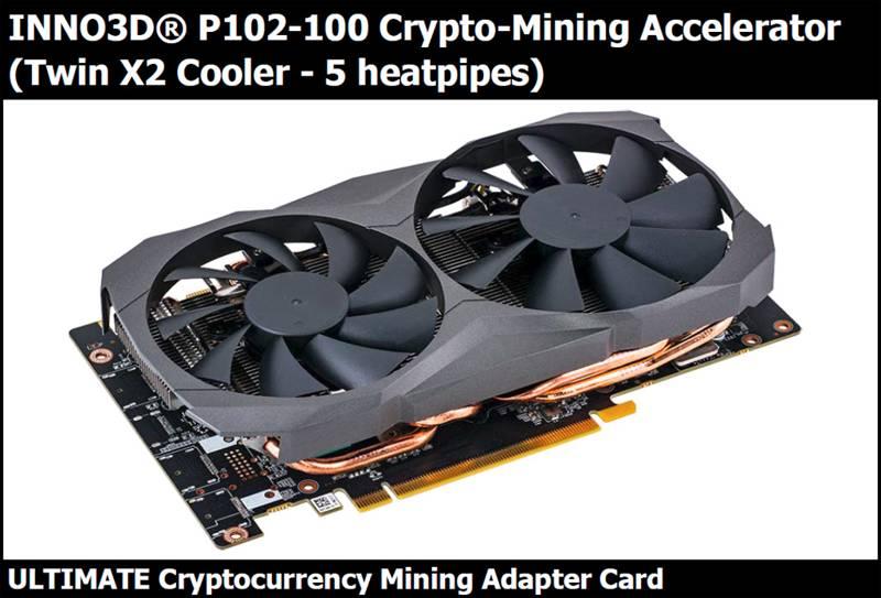 GPU Mining NVIDIA P102-100 Pascal GP102