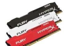RAM HyperX FURY DDR4 DIMM