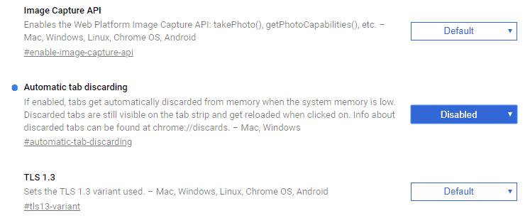 Bloccare auto-refresh su Chrome