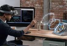 utilizzare emulatore HoloLens controller tastiera