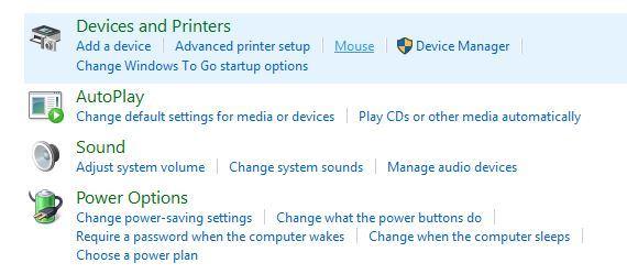 disattivare il touchpad impostazioni del mouse