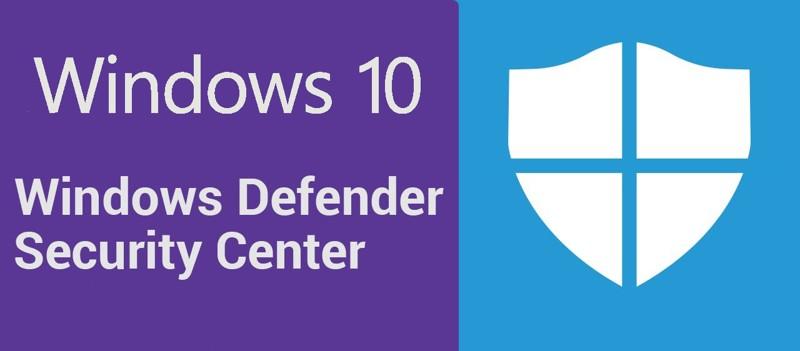 problemi Windows Defender security center Windows 10