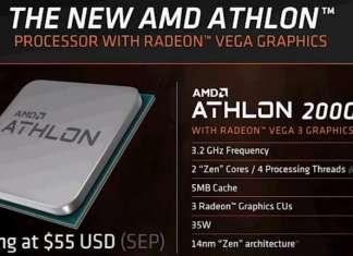 AMD APU Athlon 200GE