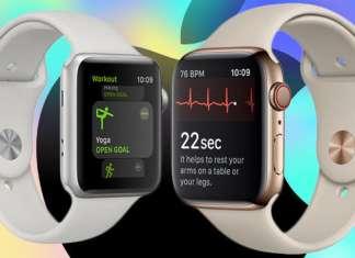 Apple Watch Serie 4 vs Serie 3