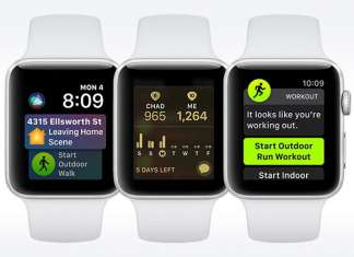 Apple Watch e WatchOS 5 funzionalità
