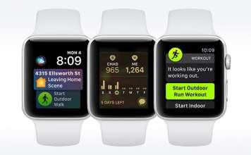 Apple Watch e WatchOS 5 funzionalità