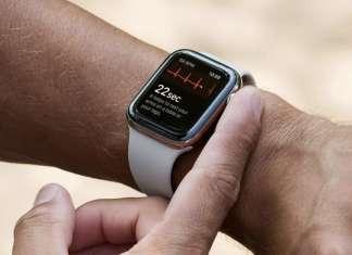 Apple Watch serie 4 ECG EKG elettrocardiogramma