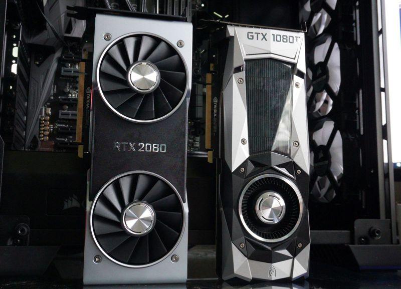 RTX 2080 vs GTX 1080 Ti