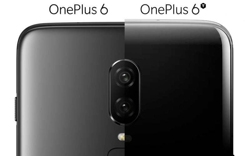 Smartphone Android vs iPhone XS OnePlus 6T