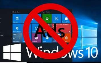 Disabilitare banner pubblicitari su Windows 10
