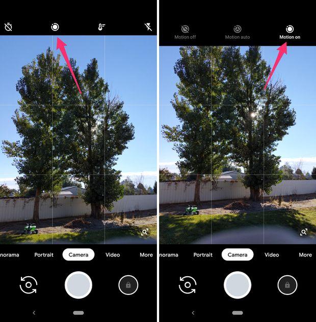 Google Pixel 3 Funzione Top Shot