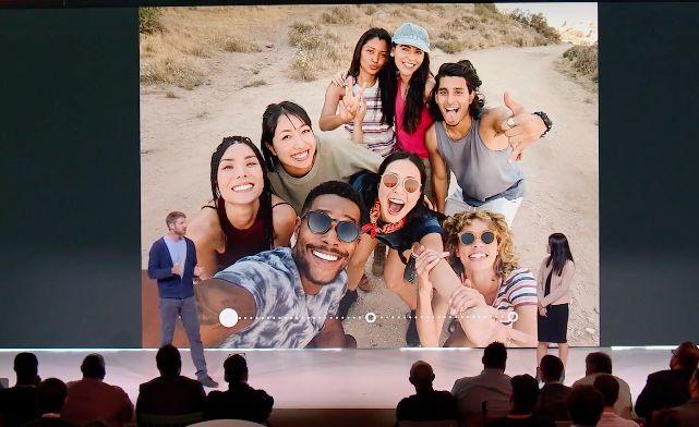 Google Pixel 3 Gruppo Selfie