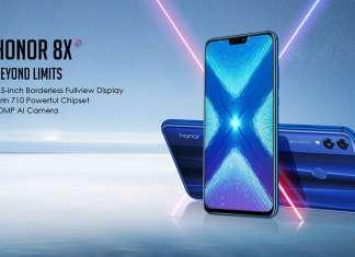 Honor 8X rispetto Pixel 3