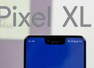 Pixel 3 XL nascondere il notch sullo smartphone