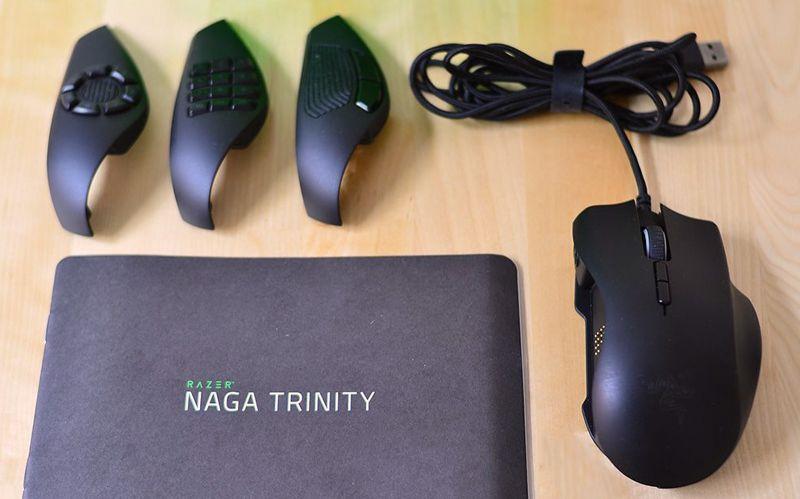 Recensione Razer Naga Trinity