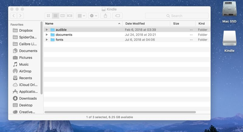 Trasferire gli ebook dal computer al Kindle