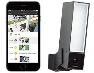 casa intelligente videocamera per la sicurezza esterna Netatmo