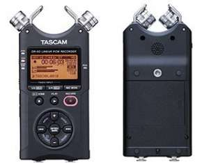 Attrezzatura video ASMR Tascam DR-40