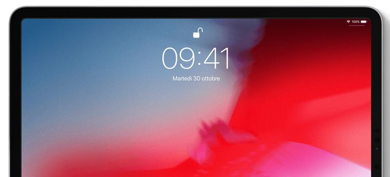 Face ID su iPad Pro