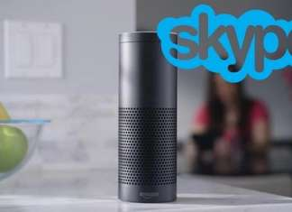 Skype usando Amazon Alexa