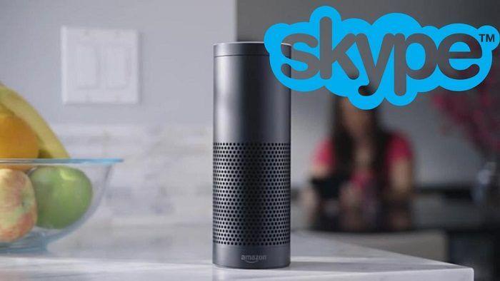 Skype usando Amazon Alexa