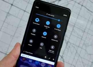 modalità scura Android Pie risparmiare batteria