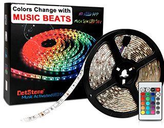 Miglior kit striscia LED RGB DotStone Music