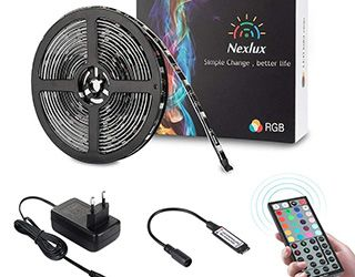 Miglior kit striscia LED RGB Nexlux
